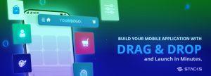 Picture of Stacks Drag & Drop mobile app builder
