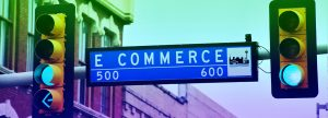 """billboard with the word """"ecommerce"""""""